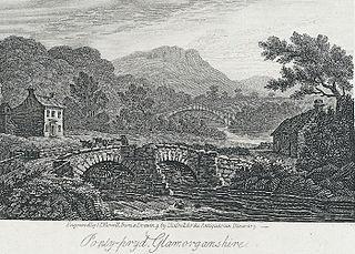 Ponty-pryd, Glamorganshire