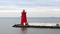 Poolbeg Lighthouse, Dublin Port (507237) (32865327922).jpg