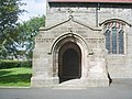 Porch, St John the Evangelist Church, Galgate - geograph.org.uk - 524819.jpg