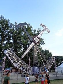 Kamikaze (ride) - Wikipedia