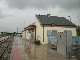 Port Huron station - Image: Port Huron Amtrak station 2