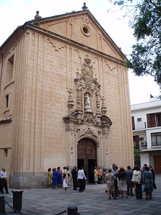Royal Collegiate Church of Saint Hippolytus - Image: Portada principal de la Ex Colegiata de San Hipólito de Córdoba