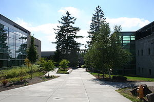 Portland Community College - Image: Portland Community College entrance