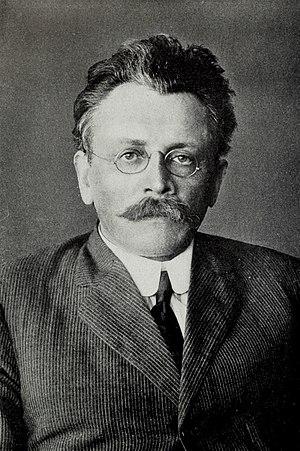 Abraham Cahan - socialist newspaper editor and novelist