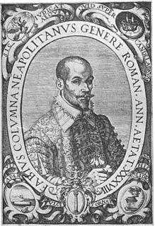 Fabio Colonna Italian scientist