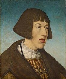 Karls jüngerer Bruder Ferdinand, Stellvertreter im Reich (Hans Maler zu Schwaz) (Quelle: Wikimedia)