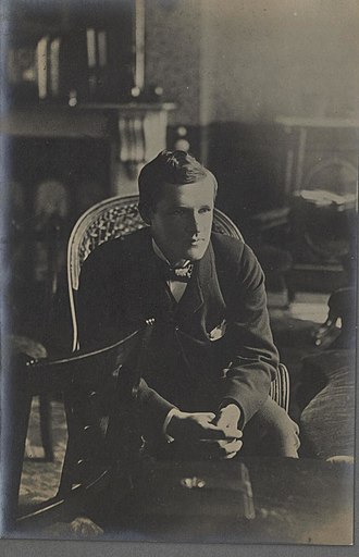 D. A. Thomas - Portrait of Lord Rhondda as a youth at college (4671174)