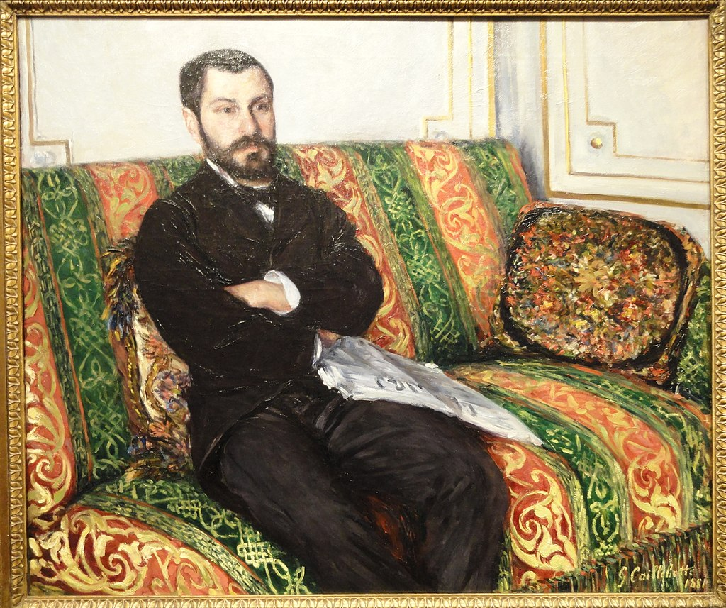 Portrait of Richard Gallo, Gustave Caillebotte, 1881 - Nelson-Atkins Museum of Art - DSC08993.JPG