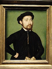 Portrait of a Man with a Glove