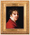 Portrait of the Artist, bust length, wearing a red jacket and lace collar 1997 NYP 08756 0335 .jpg
