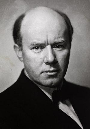 David Monrad Johansen - Portrait of David Monrad Johansen (1888-1974)