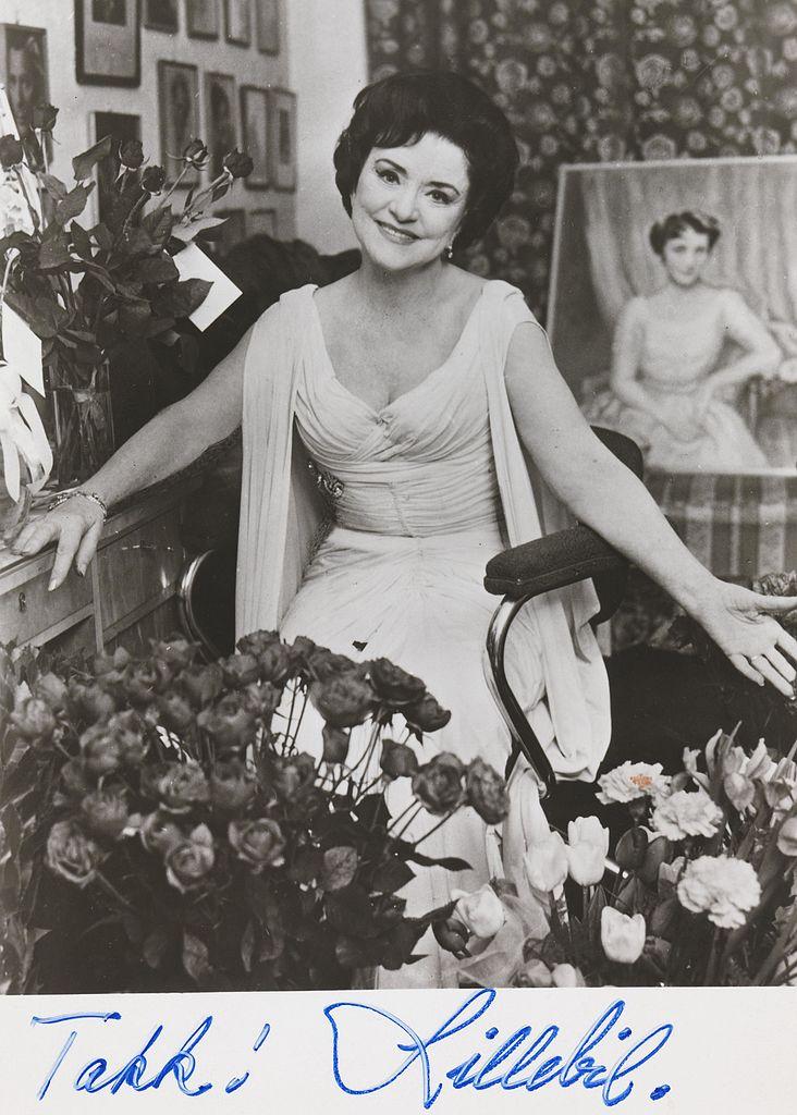 Lillebil Ibsen actress