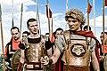 Posing as ancient Macedonians.jpg