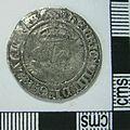 Post Medieval Coin , Groat of Henry VIII (obverse) (FindID 630978).jpg