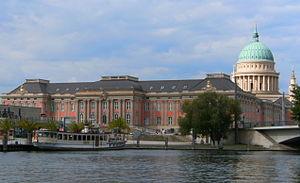 Potsdam - Image: Potsdam stadtschloss landtag Arbeitskopie 2
