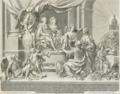 Príncipe Real D. João e D. Carlota Joaquina, com a sua prole (1793) - Gaspar Fróis Machado.png