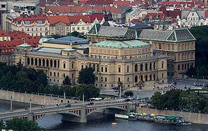 Praha Rudolfinum isometric