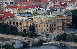 Rudolfinum - Image: Praha Rudolfinum isometric