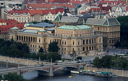 Rudolfinum, a concert and exhibition hall Praha Rudolfinum isometric.jpg