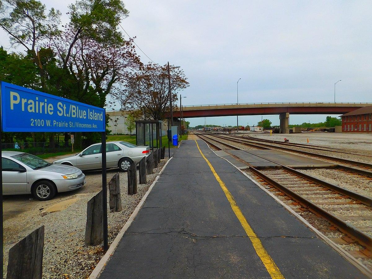 Blue Island Metra Parking
