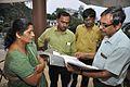 Pratik Ghosh And Subrata Sen Checking Gallery Handover Documents - Gandhi Memorial Museum - Barrackpore - Kolkata 2017-03-31 1348.JPG