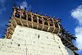 Prayer flags at the Tsemo (Victory) Fort - Leh (10000973904).jpg