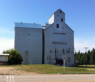 Preeceville Town in Saskatchewan, Canada