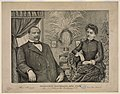 President Cleveland and wife. Married June 2nd 1886 at the White House Washington, D.C LCCN2003680052.jpg