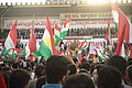 President Massoud Barzani gives a speech at the pro-Kurdistan, pro-independence referendum rally at Franso Hariri Stadium in Erbil 12.jpg