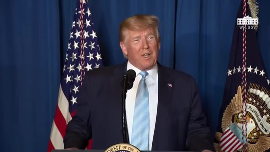 Fitxer:President Trump Delivers a Statement on Iran January 3 2020.webm