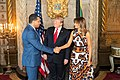 President Trump and First Lady Melania Trump Meets with Caribbean Leaders (32502633967).jpg
