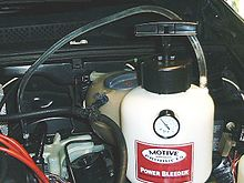 Brake bleeding - Wikipedia