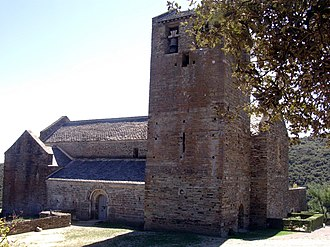 Boule-d'Amont - The Serrabone Priory and church