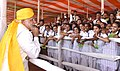 Prime Minister Narendra Modi interacts with children at BHU.jpg