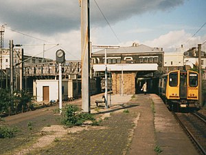Primrose Hill railway station - The station in 1986