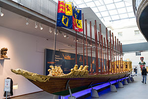 Prince Frederick's Barge - Prince Frederick's Barge, on display at the National Maritime Museum