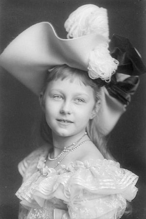 Princess Victoria Louise of Prussia - Victoria Louise, aged 10