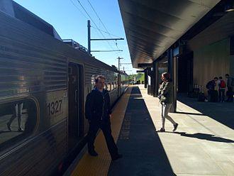 Princeton Branch - The new Princeton station