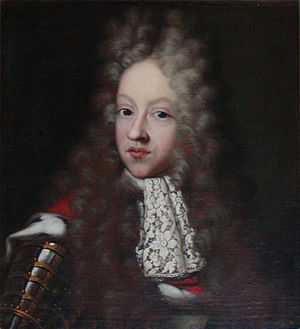 Prince Christian of Denmark (1675–1695) - Portrayed by french painter Jacob d'Agar