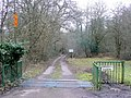 Private road and public footpath - geograph.org.uk - 1700426.jpg