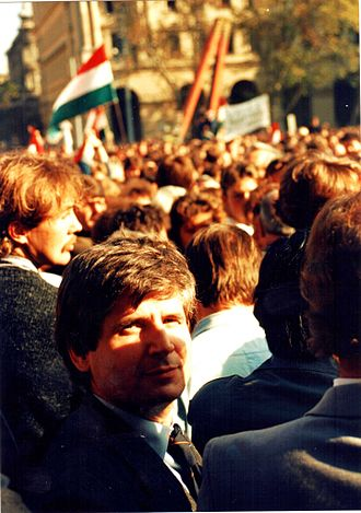 End of communism in Hungary (1989) - Proclamation of the Republic of Hungary