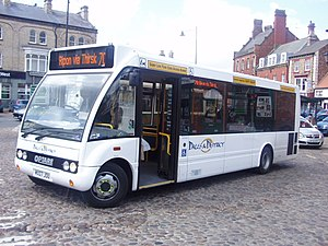 Dales & District - Optare Solo in Thirsk in May 2007