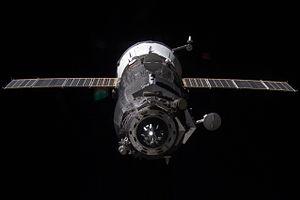 Progress M-13M - Progress M-13M approaches the ISS on November 2, 2011