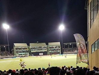 Providence Stadium - Amazon Warriors vs TKR; CPL 2018 Qualifiers