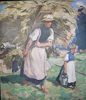 Erwin Puchinger - Puchinger: Peasant woman