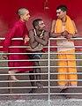 Pujari at Chinnamasta Temple-0774.jpg