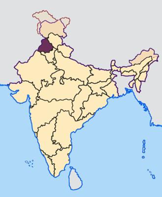 Indian general election, 2009 (Punjab) - Image: Punjab in India