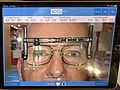 Pupillary distance measurement with iPad app at OPSM, Brisbane.jpg