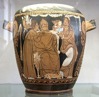 "Marriage in ancient Greece - ""Wedding preparation"""