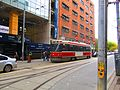 Queen streetcar, near St. Mike's, 2016 10 29 -a (30613374506).jpg